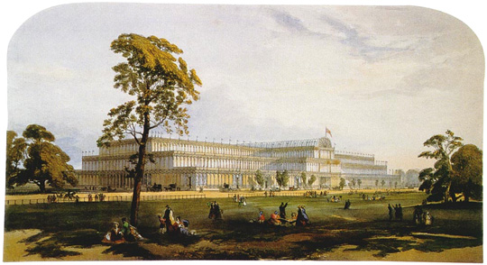 The Crystal Palace, 1851.