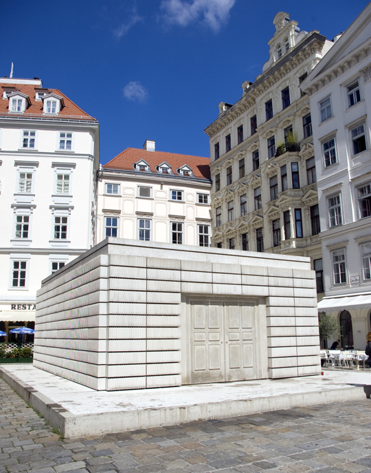 Memorial to the Austrian Jewish victims of the Holocaust