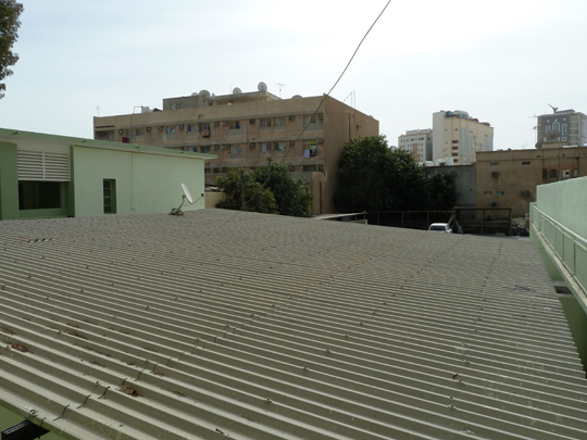 View across the roof of the Msheireb Arts Centre