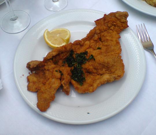 Schnitzel in Vienna