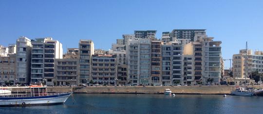 Valletta suburbs