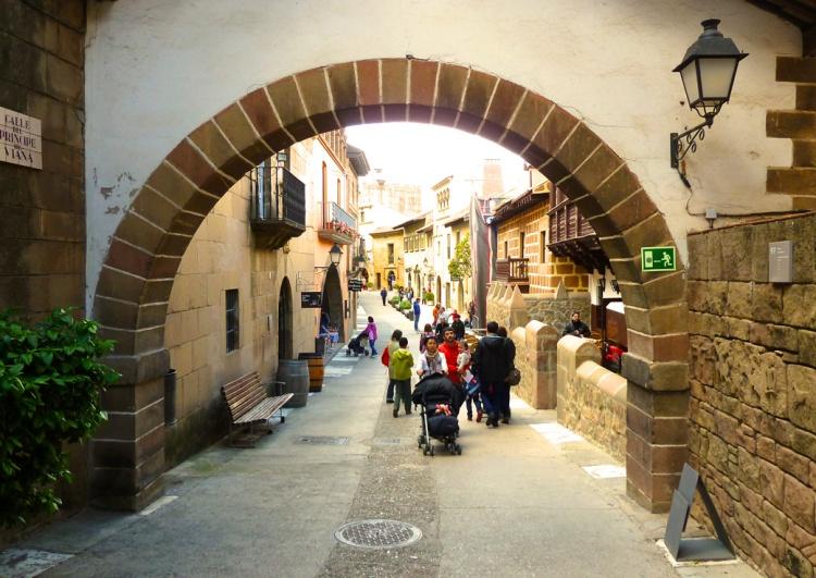 Archway in the Pole Espanyol