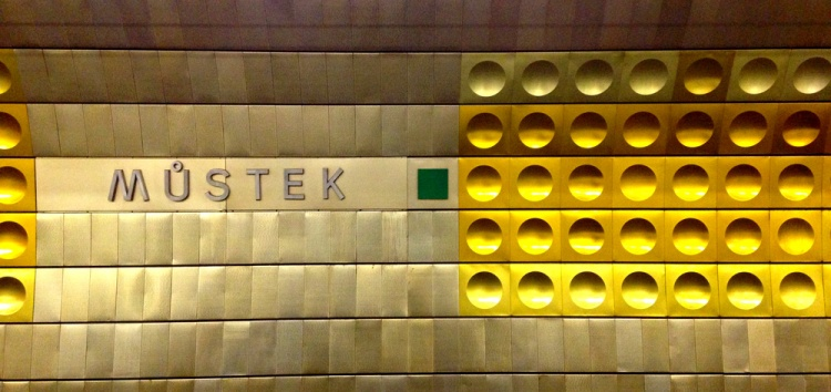 Müstek Metro Station, Prague. Author's own photograph, October 2015.