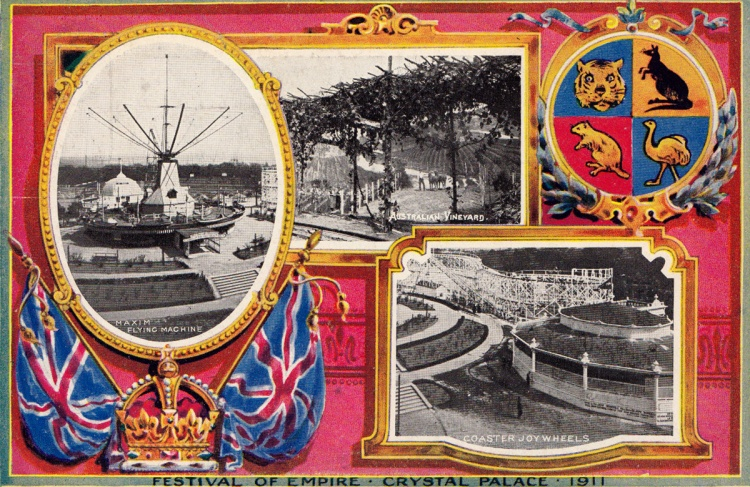 Festival of Empire postcard, 1911
