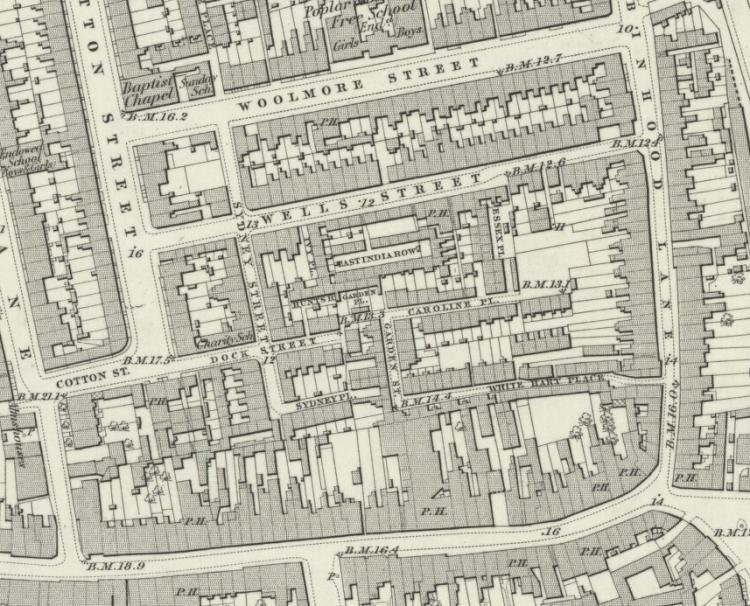 Poplar, 1860s