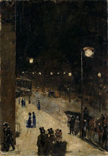 lesser_ury_berliner_strac39fe_bei_nacht_1889