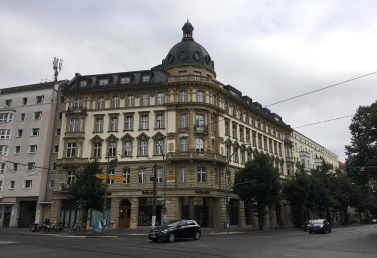 Corner of Chasseestraße and Friedrichstraße, Berlin