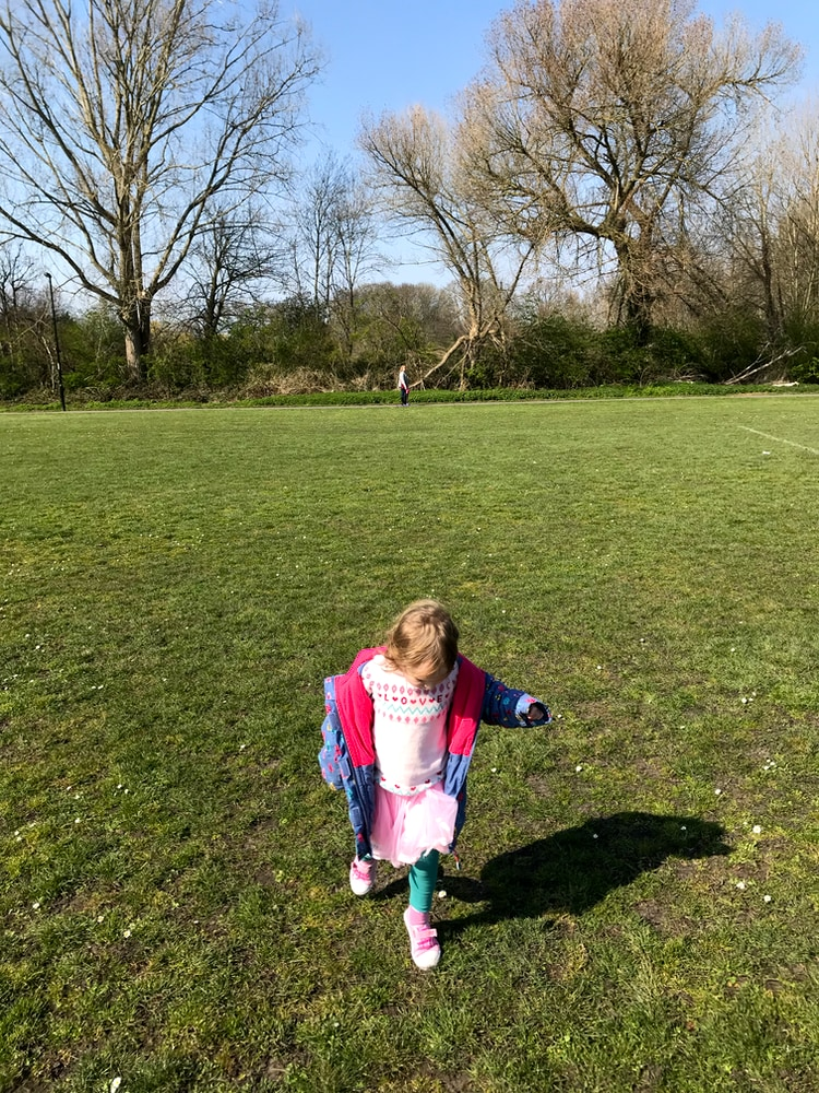 Stepping, Warren Avenue Playing Fields, Bromley, March 2020